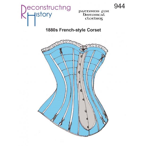 Ladies 1880s Corset
