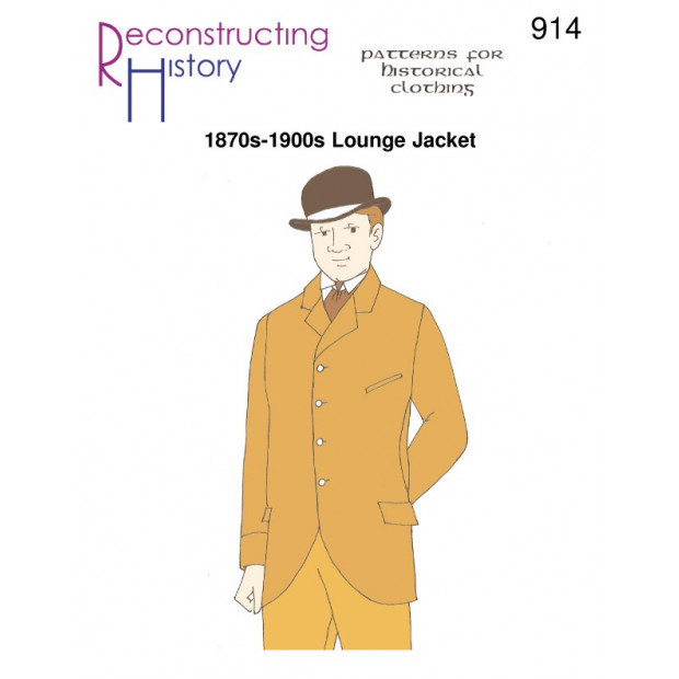 1870s-1900s Lounge Jacket