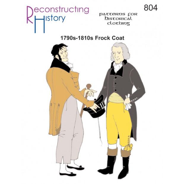 1790s-1810s Frock Coat
