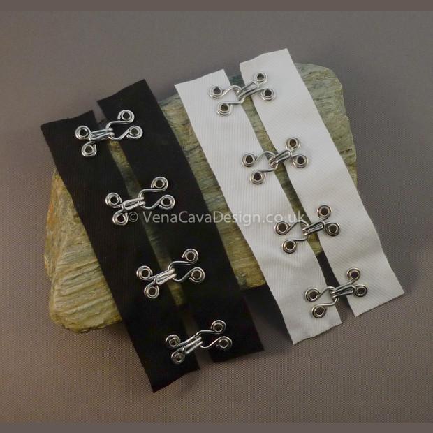 Heavy Duty Hook and Eye Tape (Cotton)