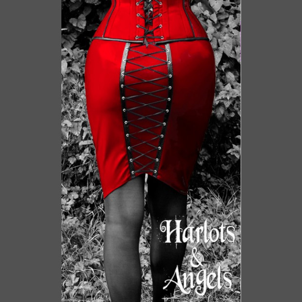 Burlesque retro fetish style Wiggle / Hobble skirt Sewing pattern