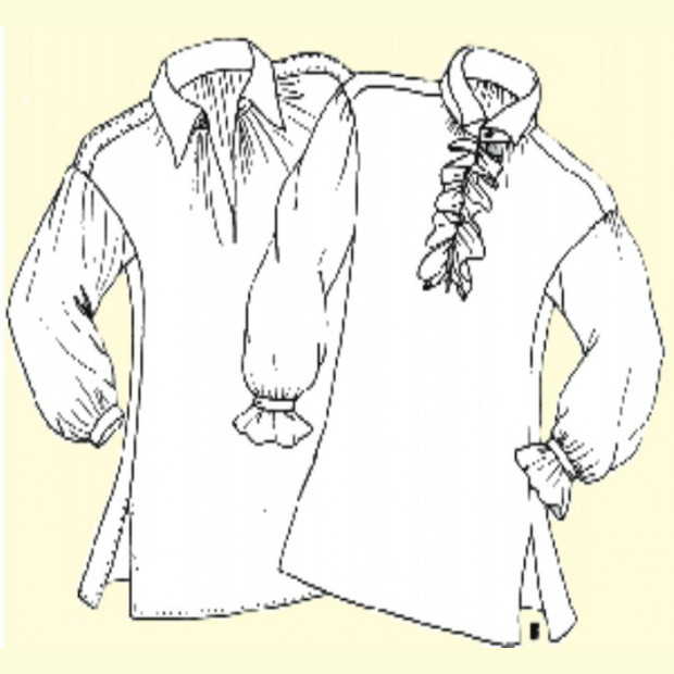 Mens 18th Century Shirts