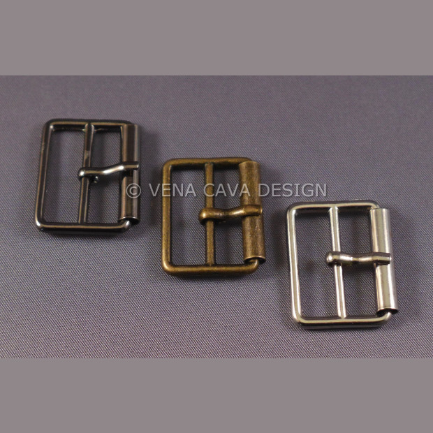 Roller Buckles in 3 Colours