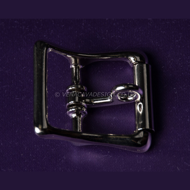 Locking Roller Buckles - Chrome Finish