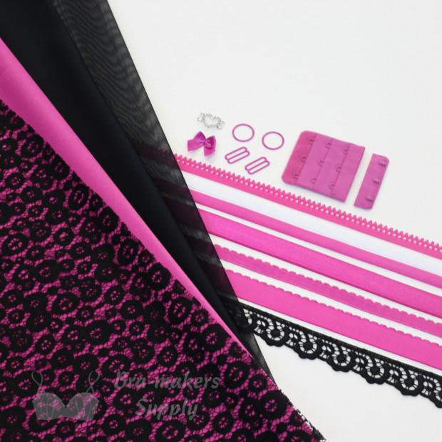 Pink Passion Quartet Bra Kit