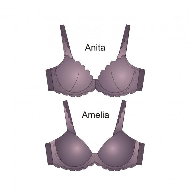 Anita Amelia Foam Cup Bra Pattern