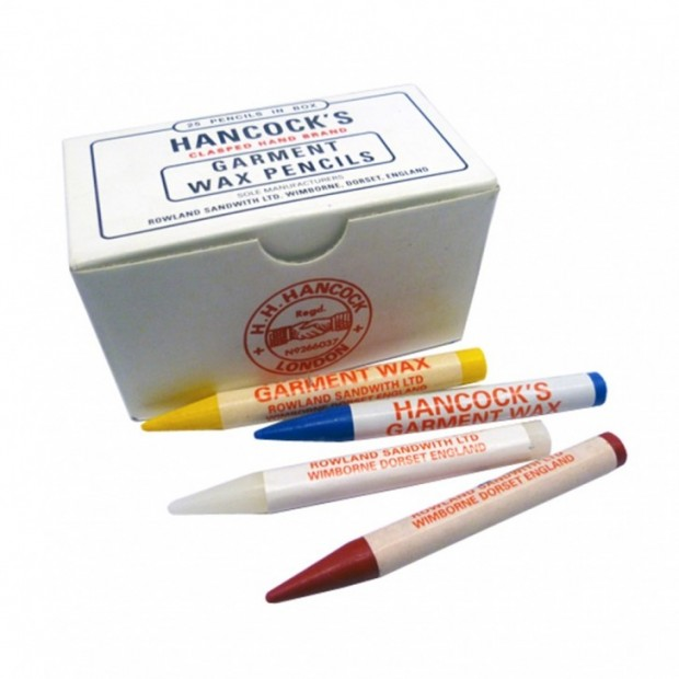 Hancocks Garment Marking Wax Pencil