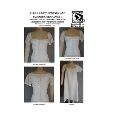 Ladies Regency and Romantic Era Corset LM115