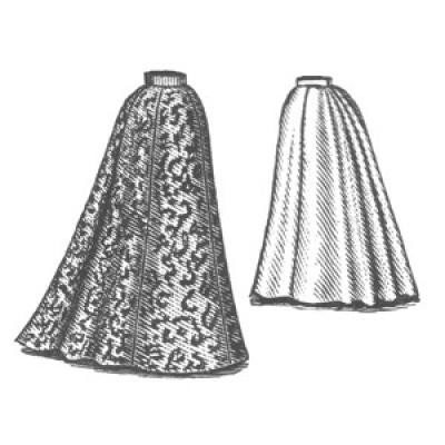 1898 Walking Skirt