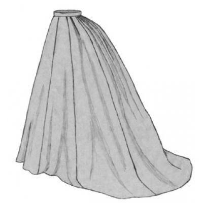 1869 Grand Parlor Skirt