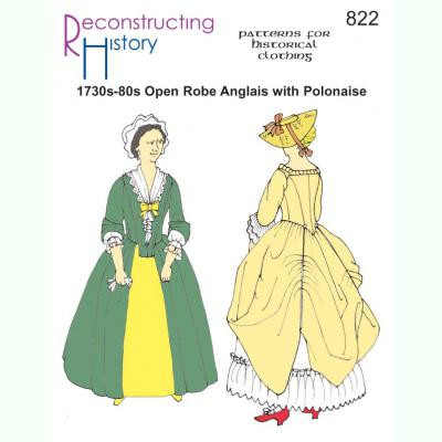 Open Robe Anglais with Polonaise Option