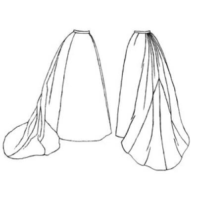 1893 Bell Skirt