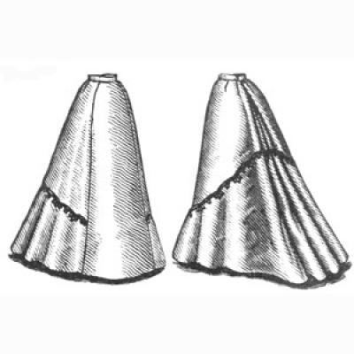 1898 Flared Skirt