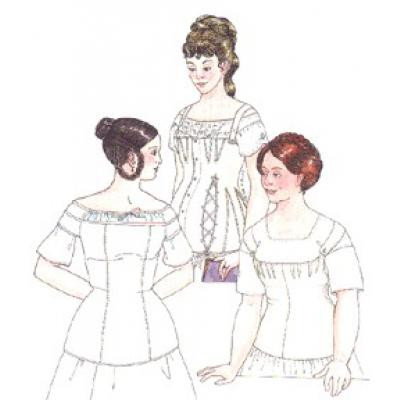 19th century Sensible and Gestation Stays