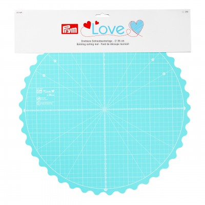 Rotating Cutting Mat - Prym LOVE 35cm Round!