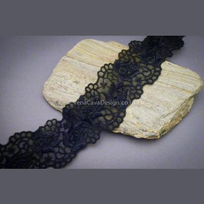 Swiss Scalloped Lace Trim