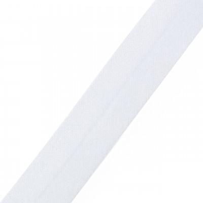 White Organza Bias Binding