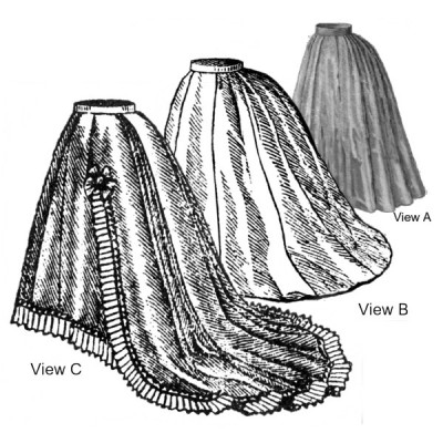 1869 Transition Skirt