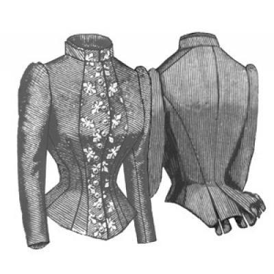 1884 French Vest Bodice