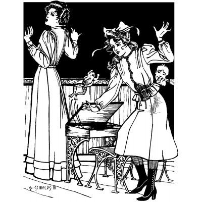 Schoolmistress Shirtwaist and Skirt