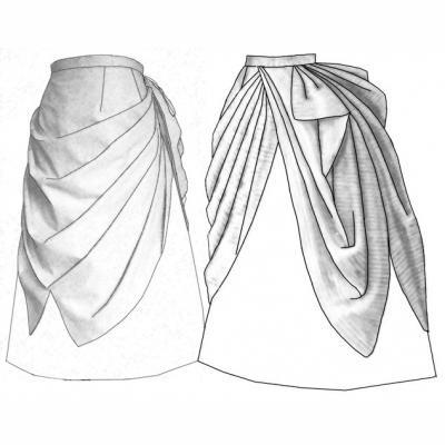 1887 Cascade Overskirt