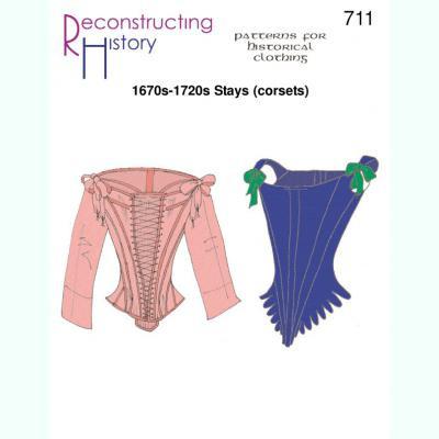 1670s-1720s Stays