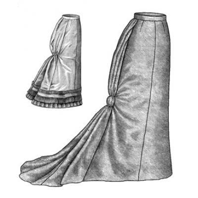 1878 Fantail Skirt