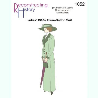 Ladies 1910s Three-Button Walking Suit