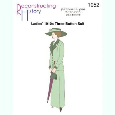 Ladies 1910s Three-Button Walking Suit