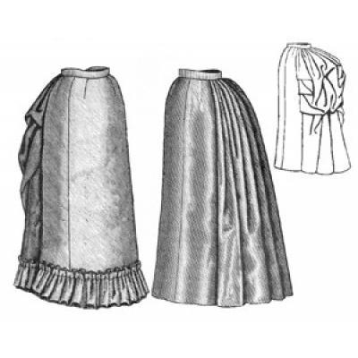 1885 Four-Gore Underskirt