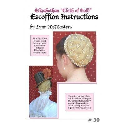 Elizabethan 'Cloth of Gold' Escoffion