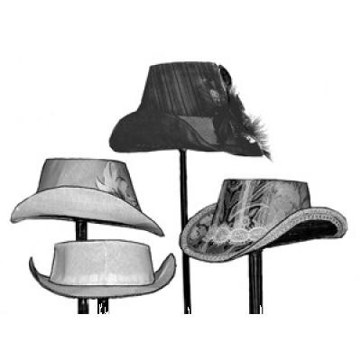 1880s Buckram Hat Frame Pattern