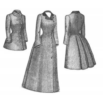 1880s Late Bustle Coat