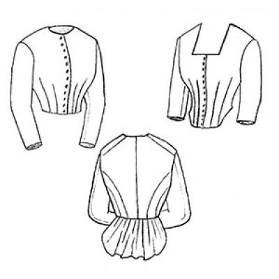 1871 Day Bodice