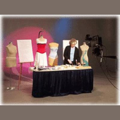Laughing Moon: How to Make and Fit a Victorian Corset DVD