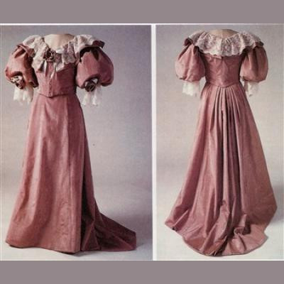 1890s Five Gore Skirt LM101