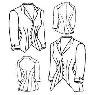 1880 Jacket Bodice