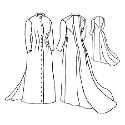 1882 Tea gown