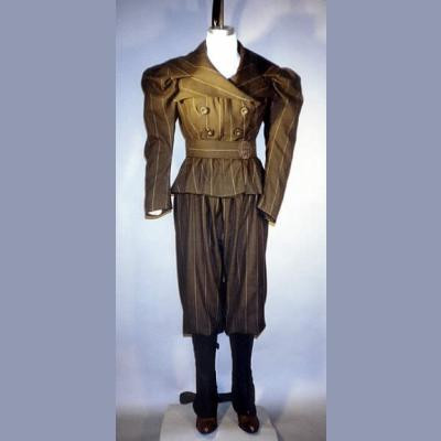 Ladies 1890s Sporting Costumes with Leggings LM110