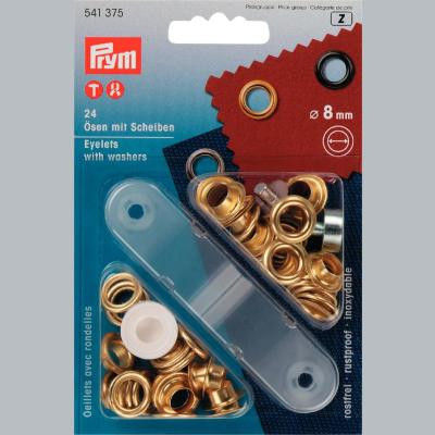 8mm Eyelets and Washers - Prym