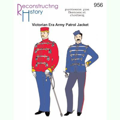 Victorian Era Army Patrol Jacket (undress)