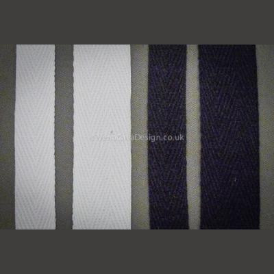 Cotton Herringbone (Prussian) Tape - Twill Tape