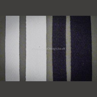 Cotton Herringbone (Prussian) Tape - Twill Tape