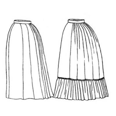 1870s Underskirt