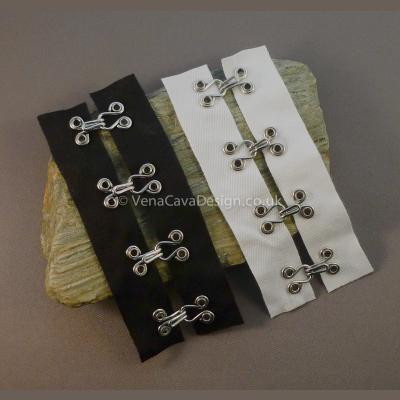 Heavy Duty Hook and Eye Tape (Cotton)
