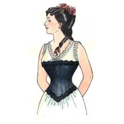 Late Victorian Corset