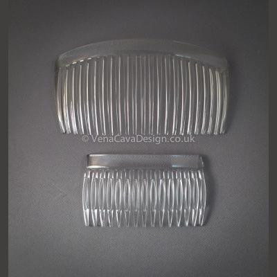 Clear Plastic Combs