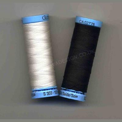 Gutermann Silk Thread 100m Reels