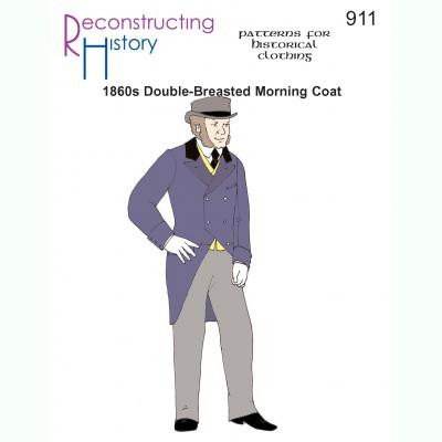 1860s Double-Breasted Morning Coat