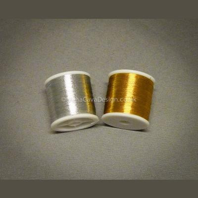 Gold and Silver Metallic Thread